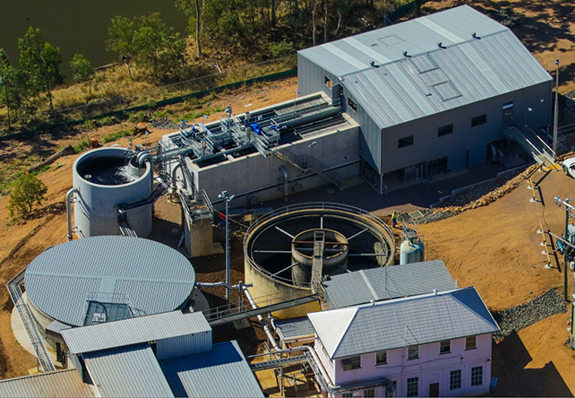 Gordonbrook Water Treatment Plant