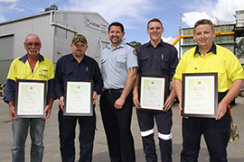 Receiving QAS Certs