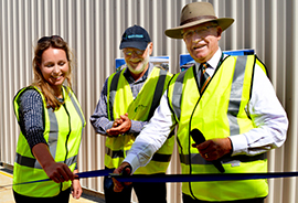 Award winning Kingaroy Wastewater Treatment Plant officially opens