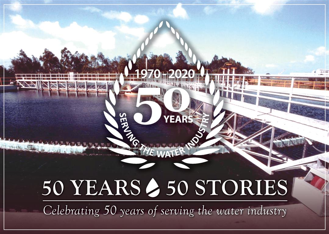 50 Years - 50 Stories - Luggage Point WWTP Clarifier Greg Johnston